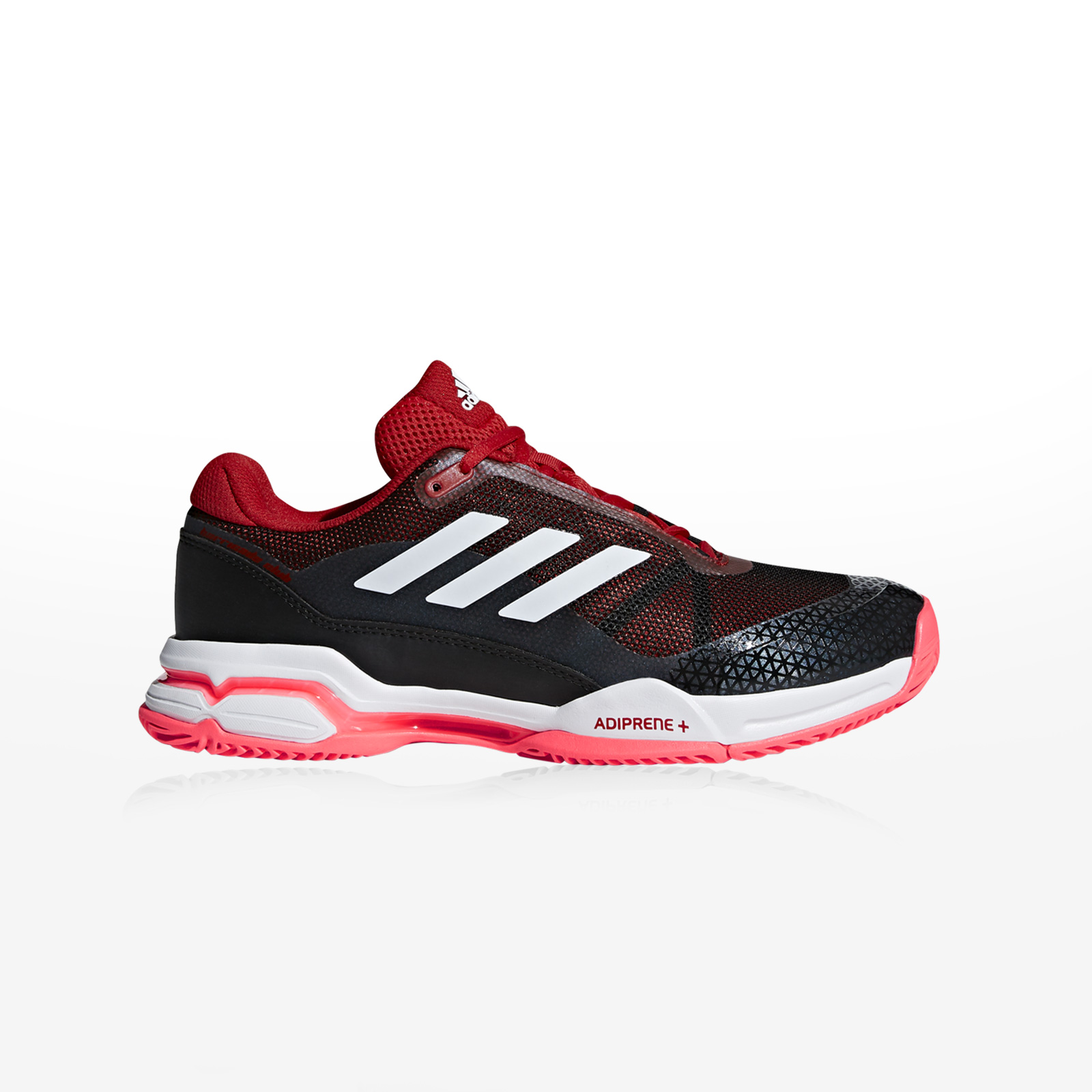 5216972c684 -50% Sportcafe adidas – BARRICADE CLUB – SCARLE/FTWWHT/CBLACK