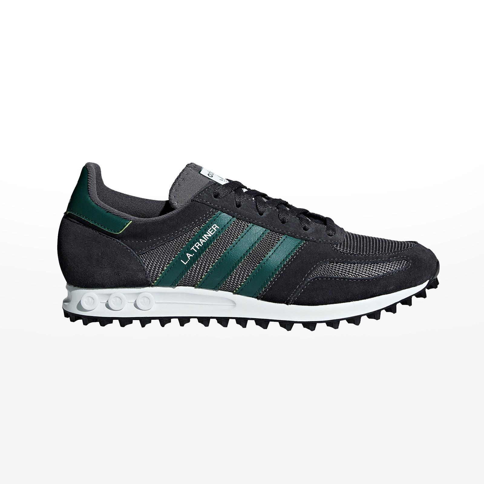 9a5a0804c69 -50% Sportcafe adidas Originals – LA TRAINER – CARBON/CGREEN/GREFIV