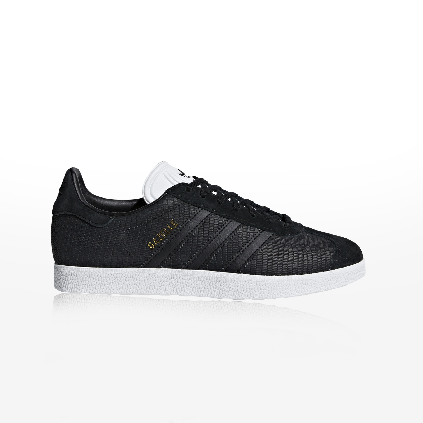 -50% Sportcafe adidas Originals – GAZELLE W – CBLACK CBLACK FTWWHT 9e5f071b6