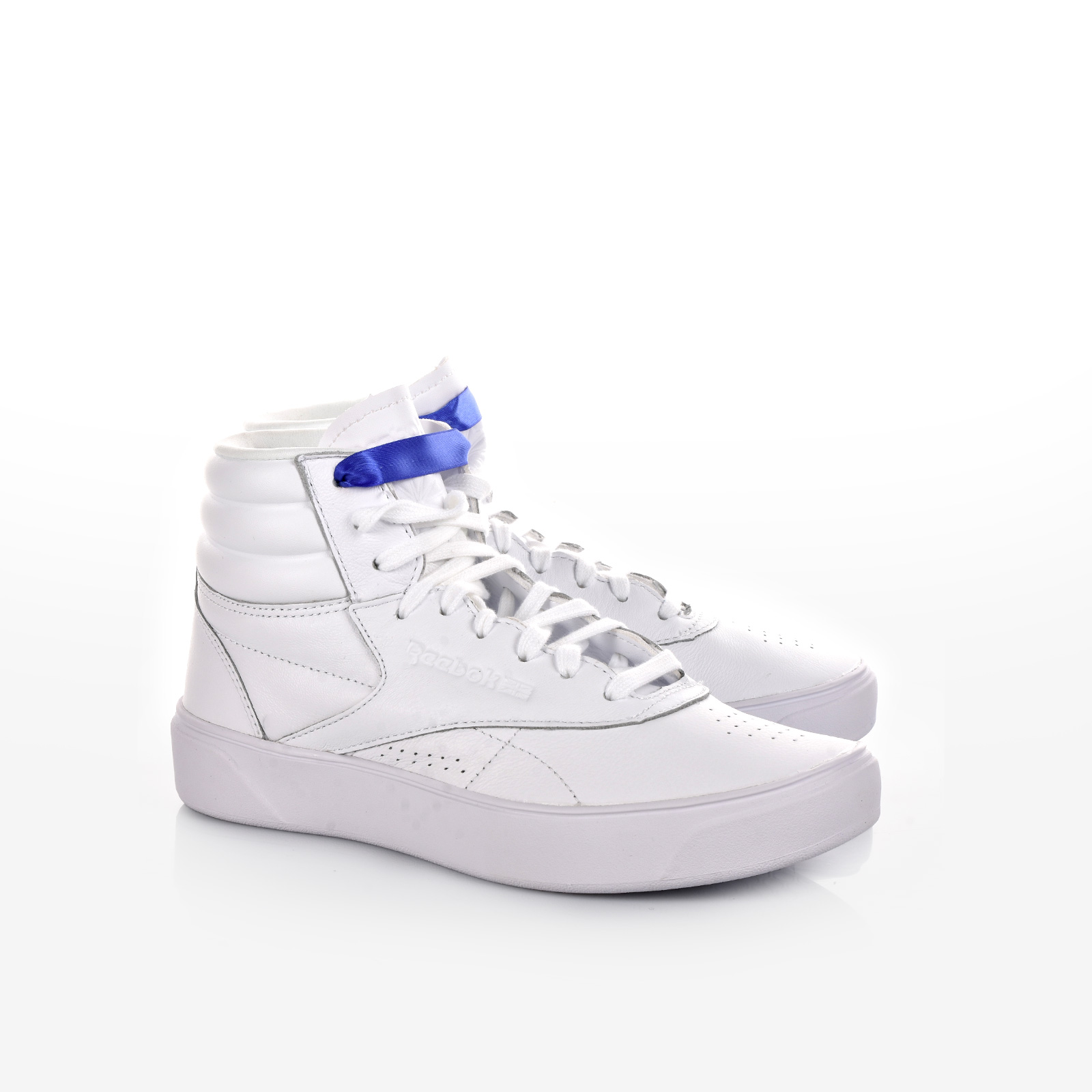 Reebok - FREESTYLE HI NOVA - MID-WHITE/ULTRA PURPLE