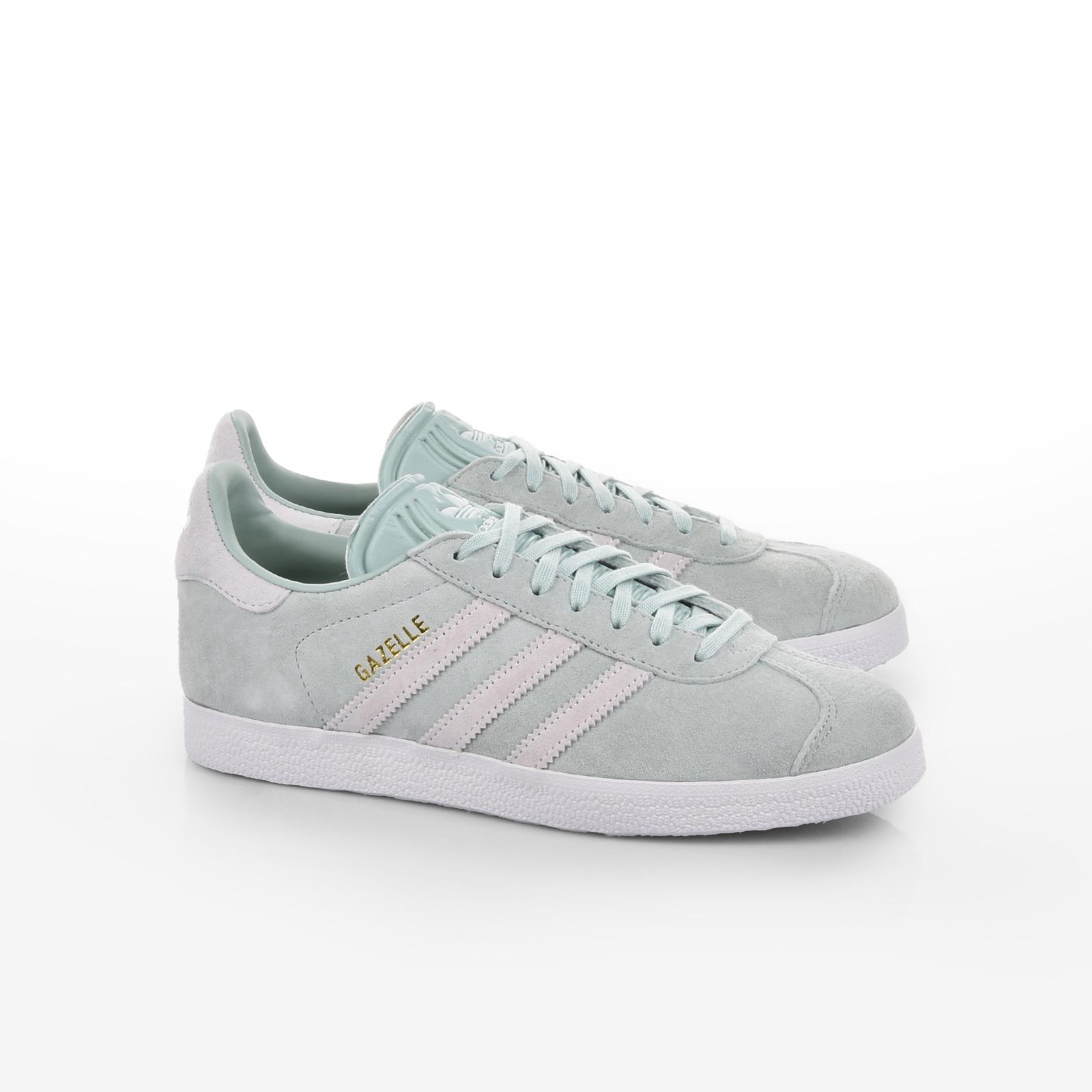 buy popular c2f0d 2cfd4 Γυναικεία παπούτσια adidas Originals - GAZELLE W - ASHGRN FTWWHT BLUTIN    My Lady Shoes
