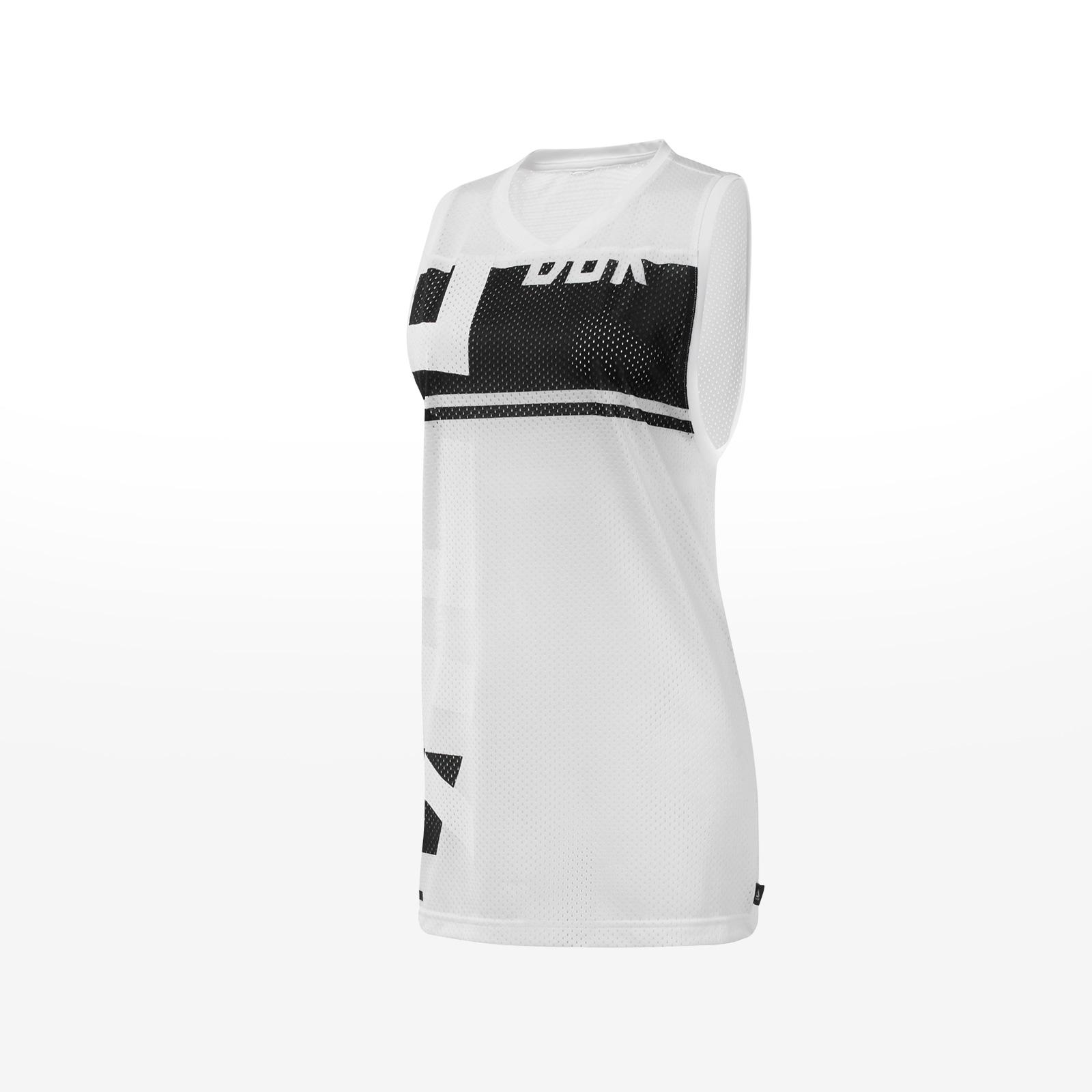 Reebok - GFC MESH BASKETBALL TANK - WHITE