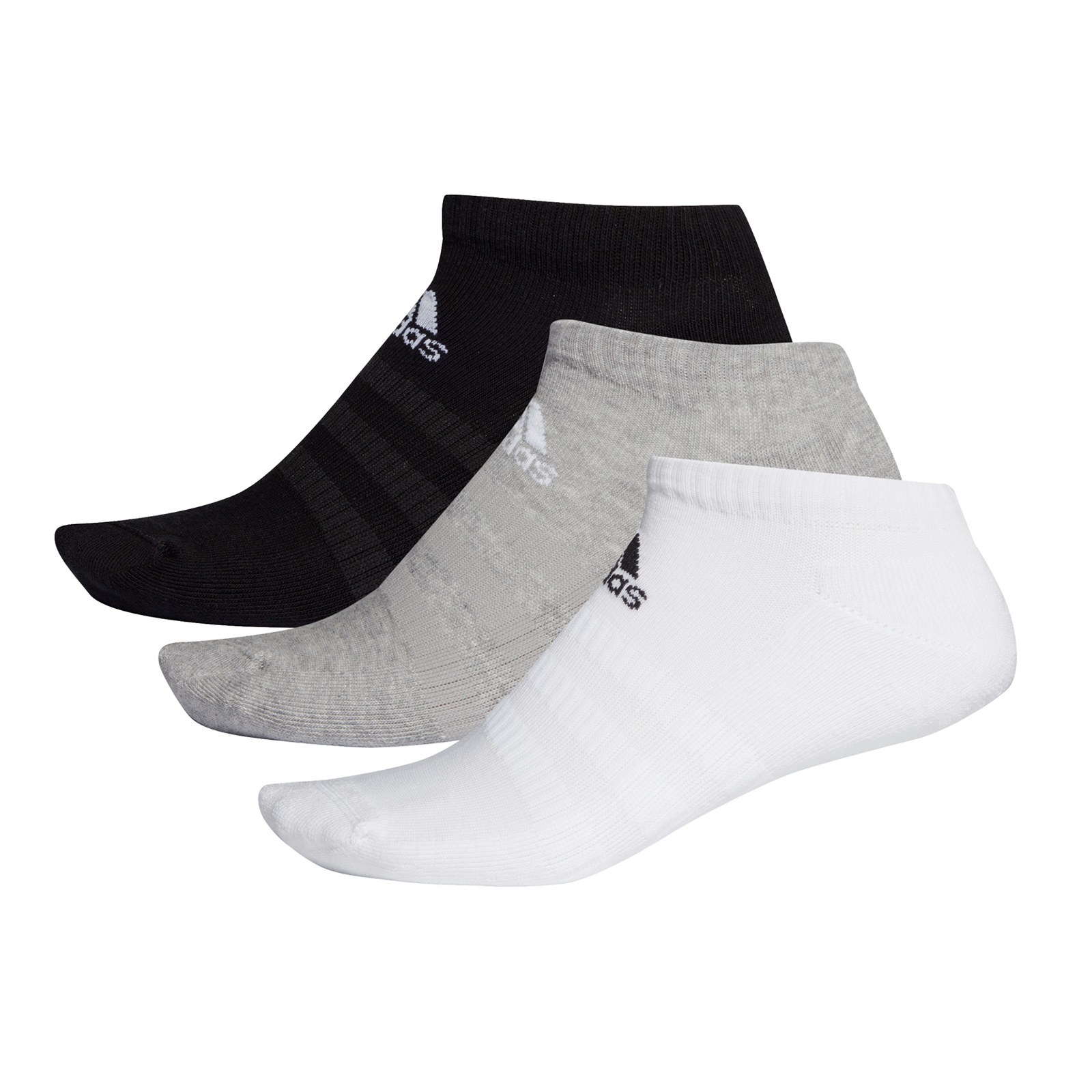 adidas - CUSH LOW 3PP - MGREYH/WHITE/BLACK