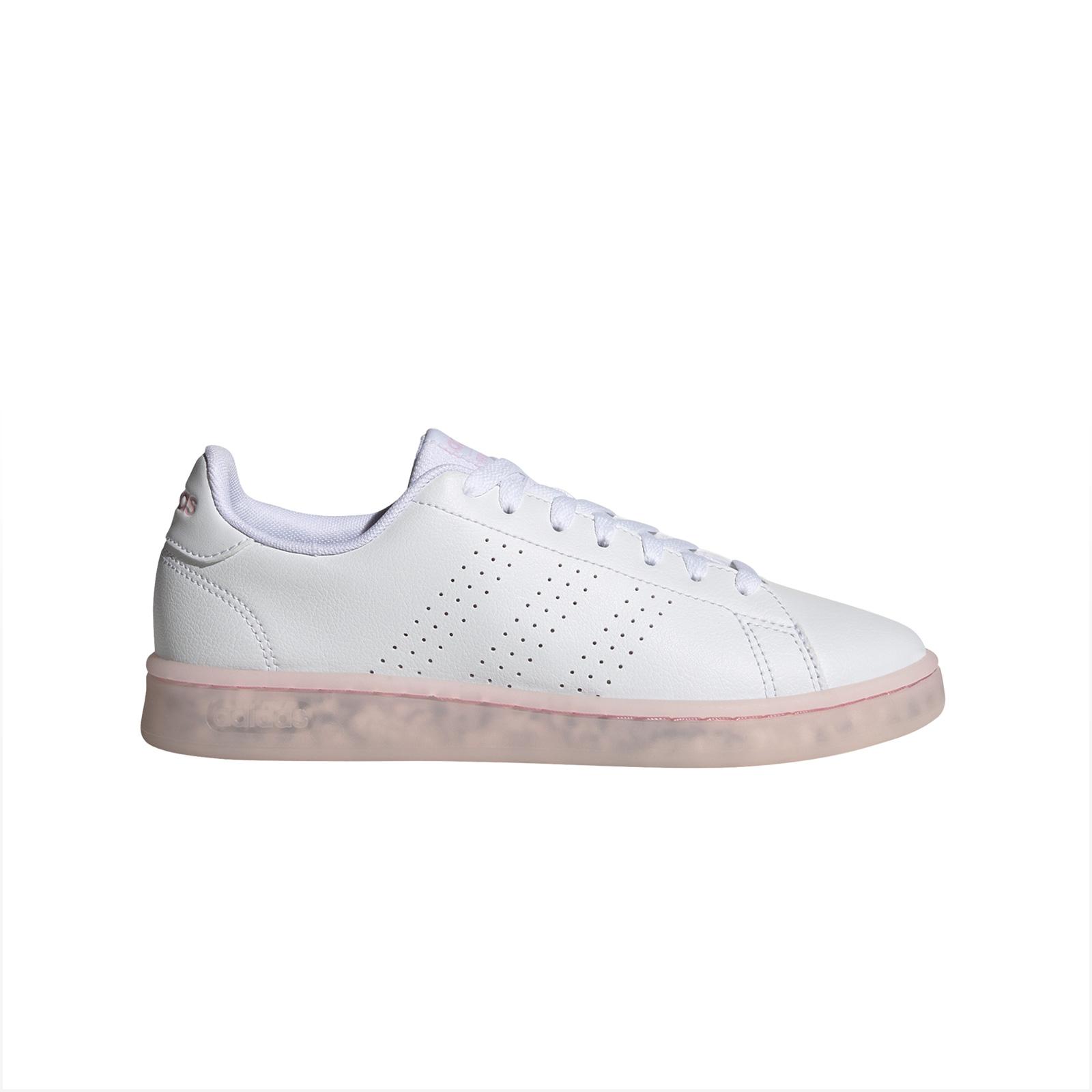 adidas - ADVANTAGE ECO - FTWWHT/FTWWHT/CLPINK - adidas -