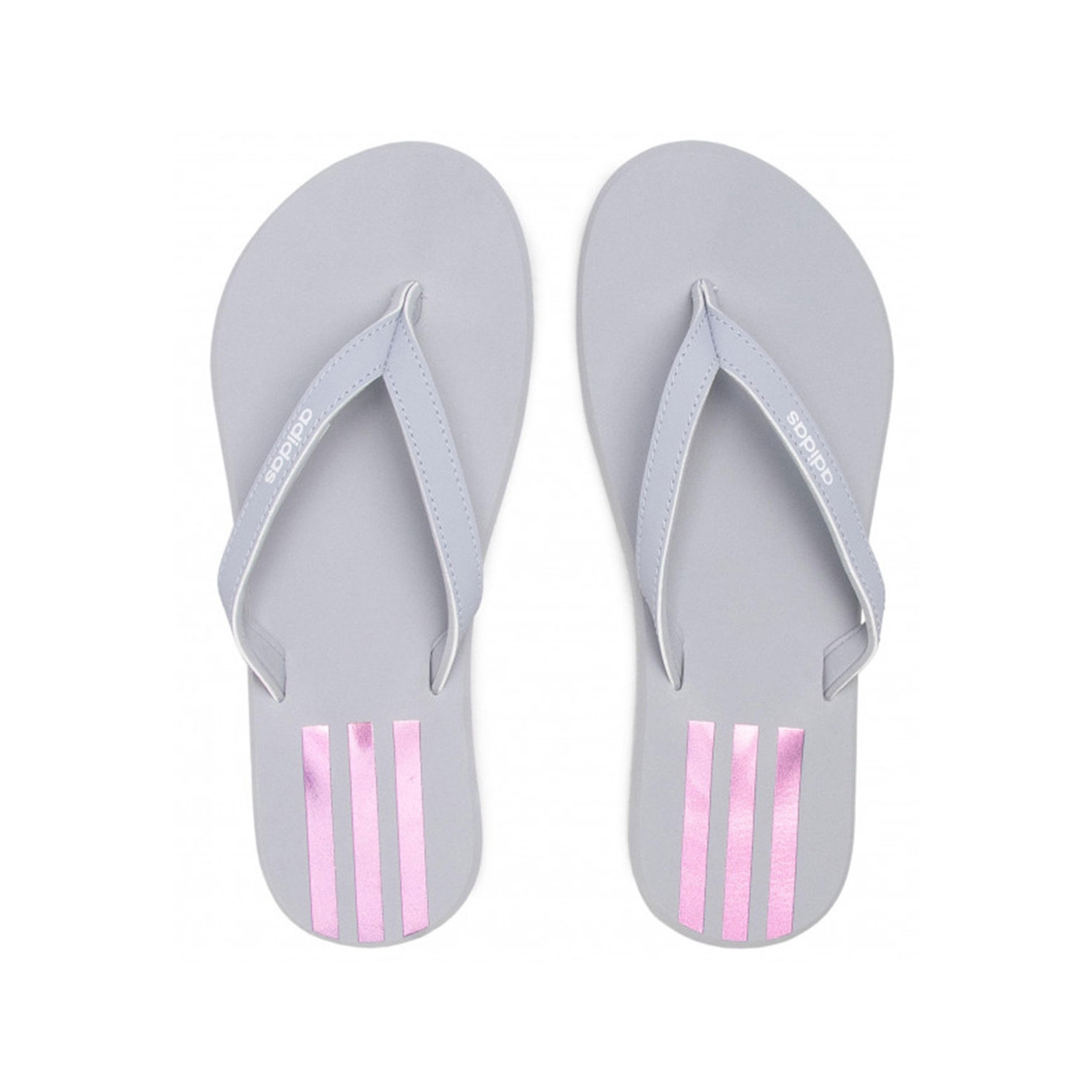 adidas - EEZAY FLIP FLOP - HALSIL/IRIDES/FTWWHT - adidas -