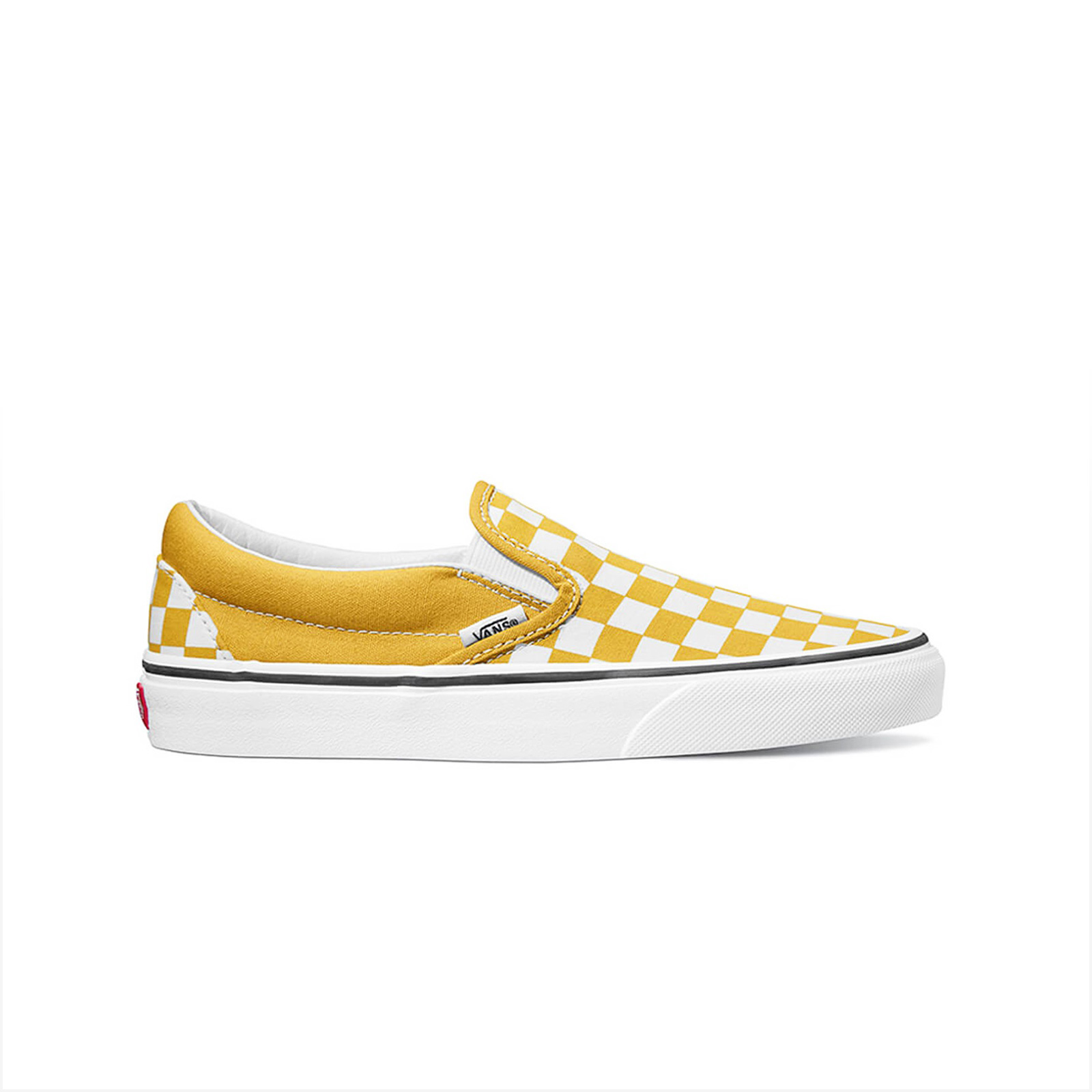 4e8a97ab61 Sportcafe Vans – OLD SKOOL – (CHECKERBOARD) YOLK YELLOW TRUE WHITE