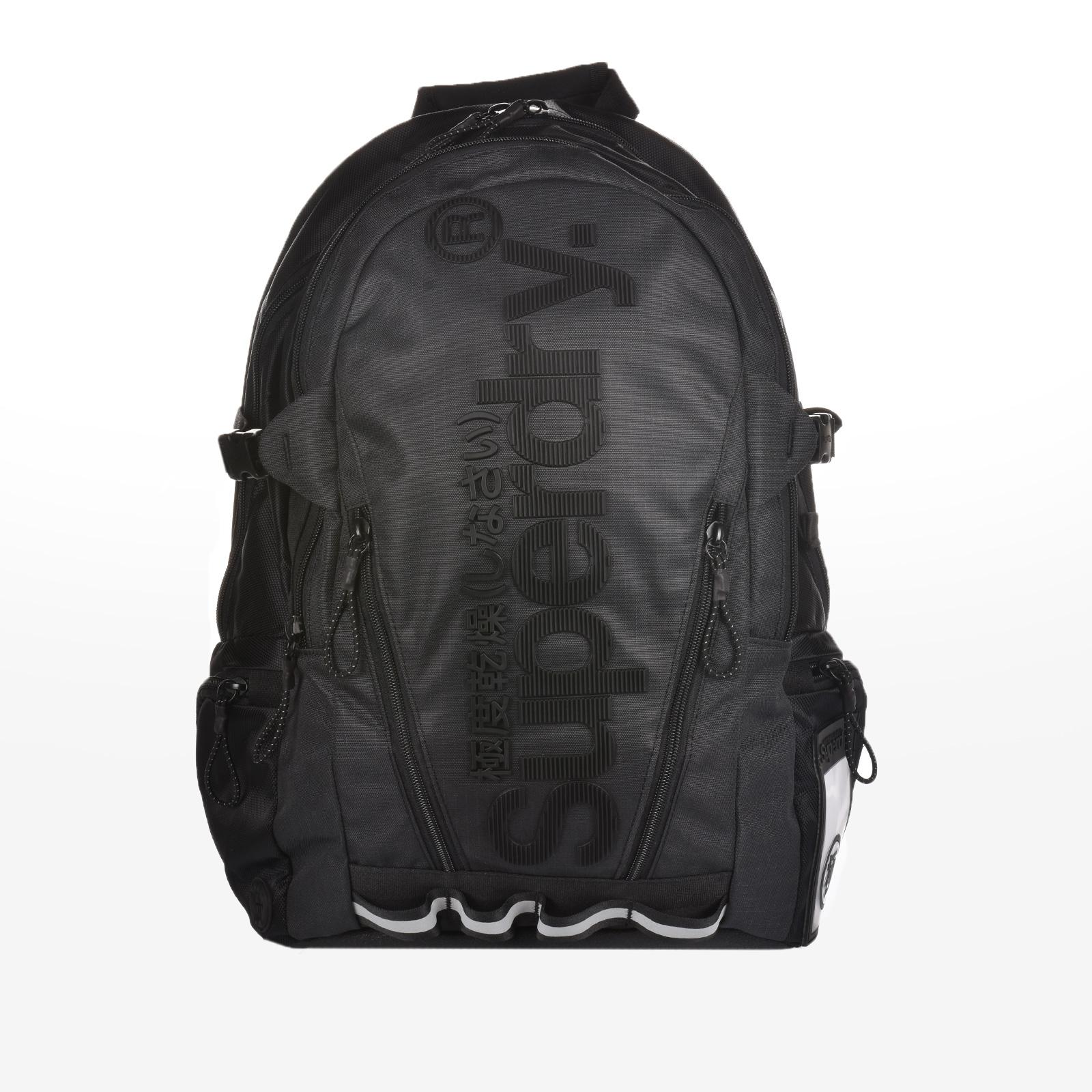 Sportcafe Superdry - D1 LINE TARP BACKPACK - BLACK a55bc1b021c