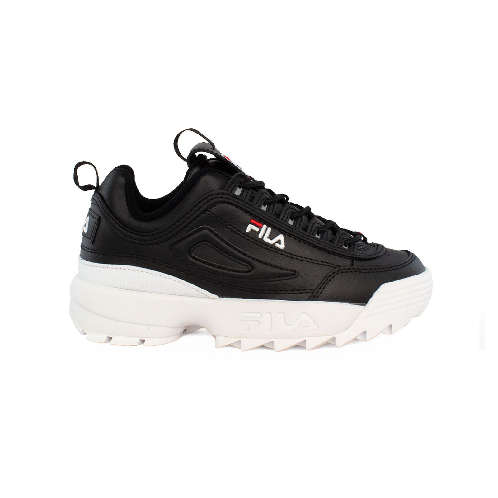Fila Heritage DISRUPTOR P LOW WMN FOOTWEAR BLACK BLACK