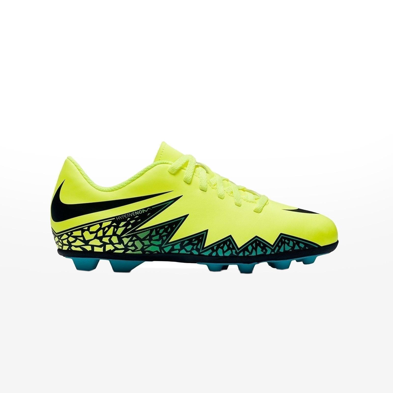 newest 52026 d1b1c -70% Sportcafe Nike – JR HYPERVENOM PHADE II FG-R – VOLT BLACK-HYPER