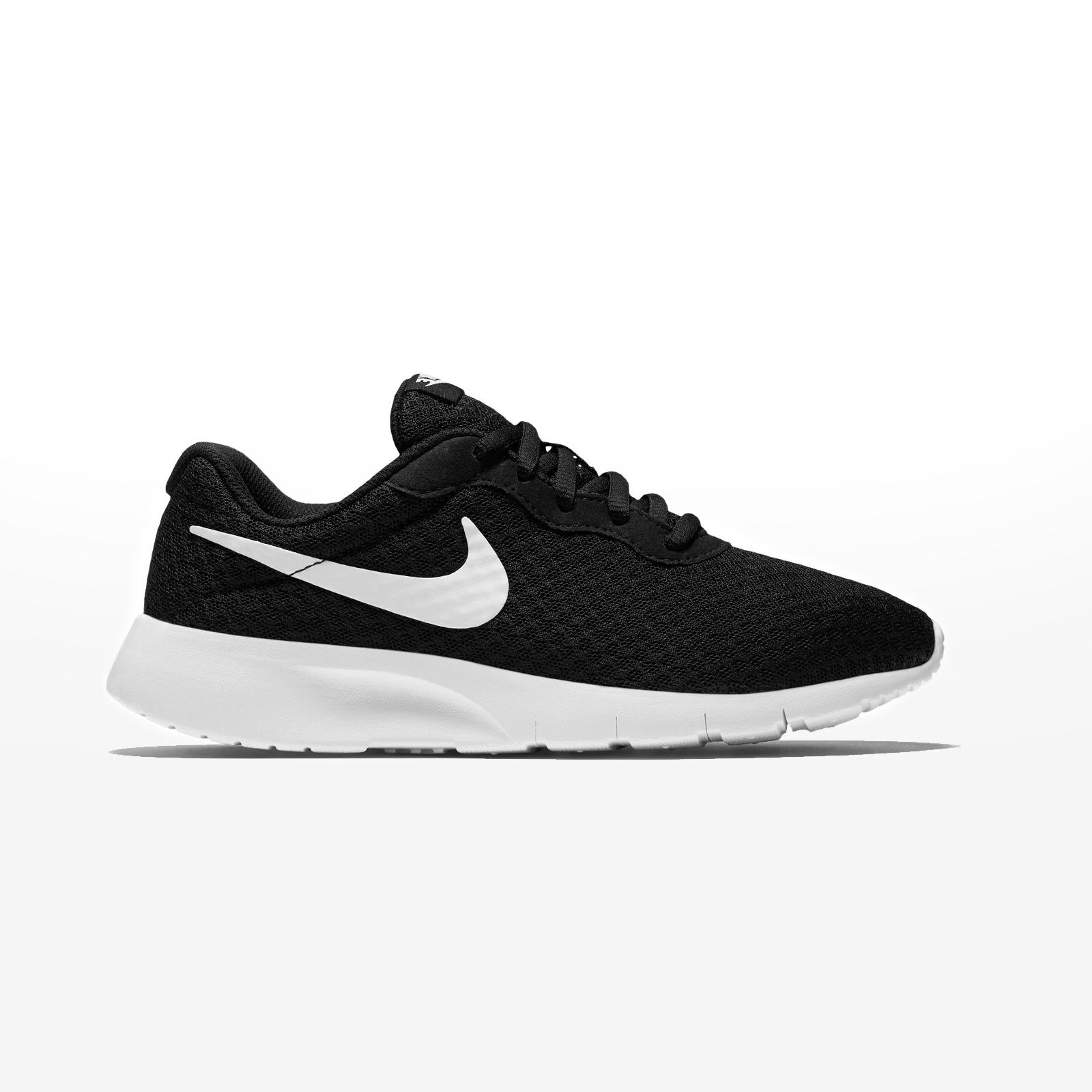Sportcafe Nike – NIKE TANJUN (GS) – BLACK WHITE-WHITE 1cca241c235