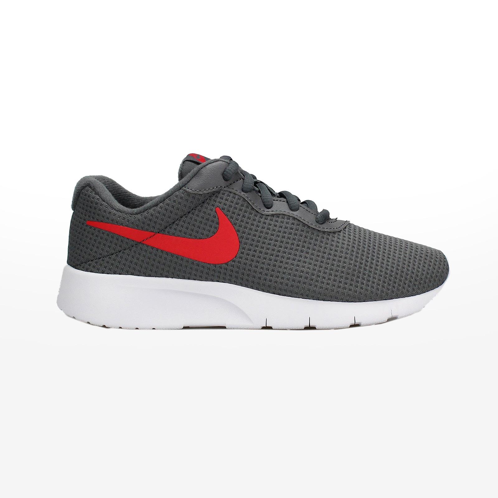 50010a041c0 Sportcafe Nike – NIKE TANJUN (GS) – DARK GREY/UNIVERSITY RED-WHITE