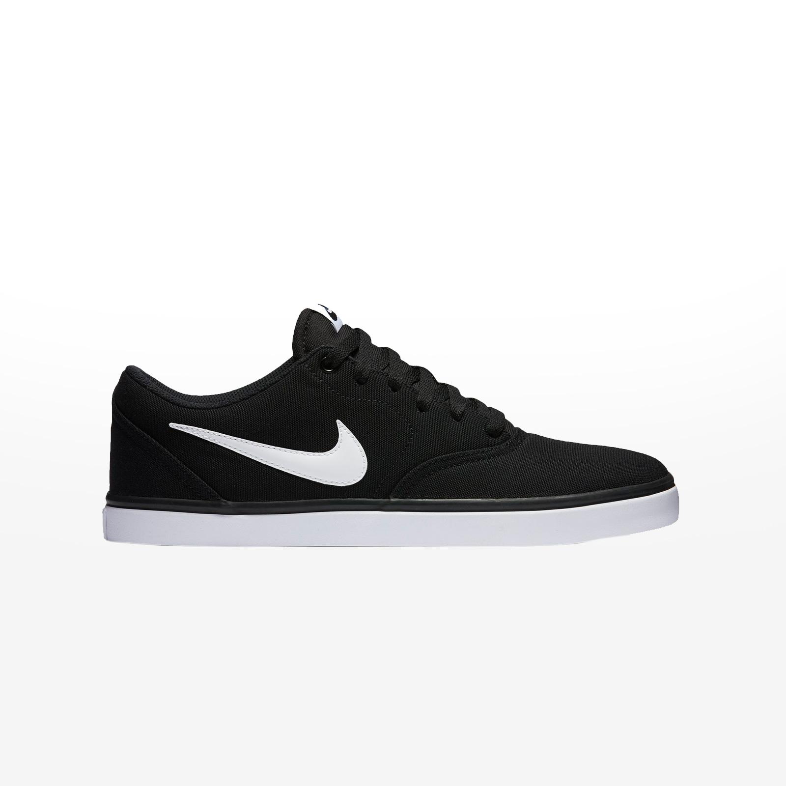 4a3eb1ad73c Sportcafe Nike – NIKE SB CHECK SOLAR CNVS – BLACK/WHITE