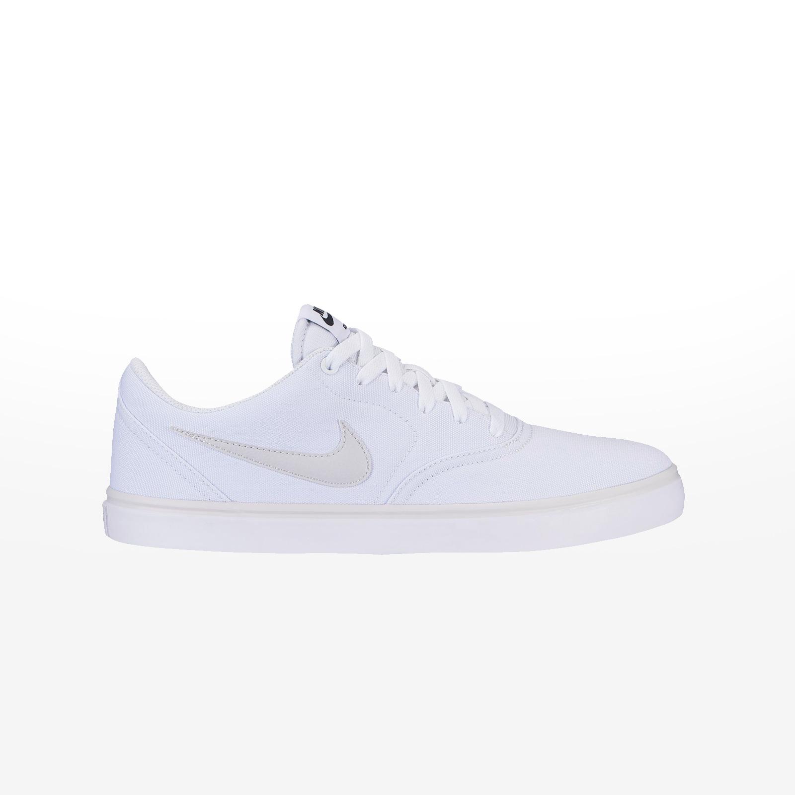 b0a9985e502 Sportcafe Nike – NIKE SB CHECK SOLAR CNVS – WHITE/VAST GREY-WHITE
