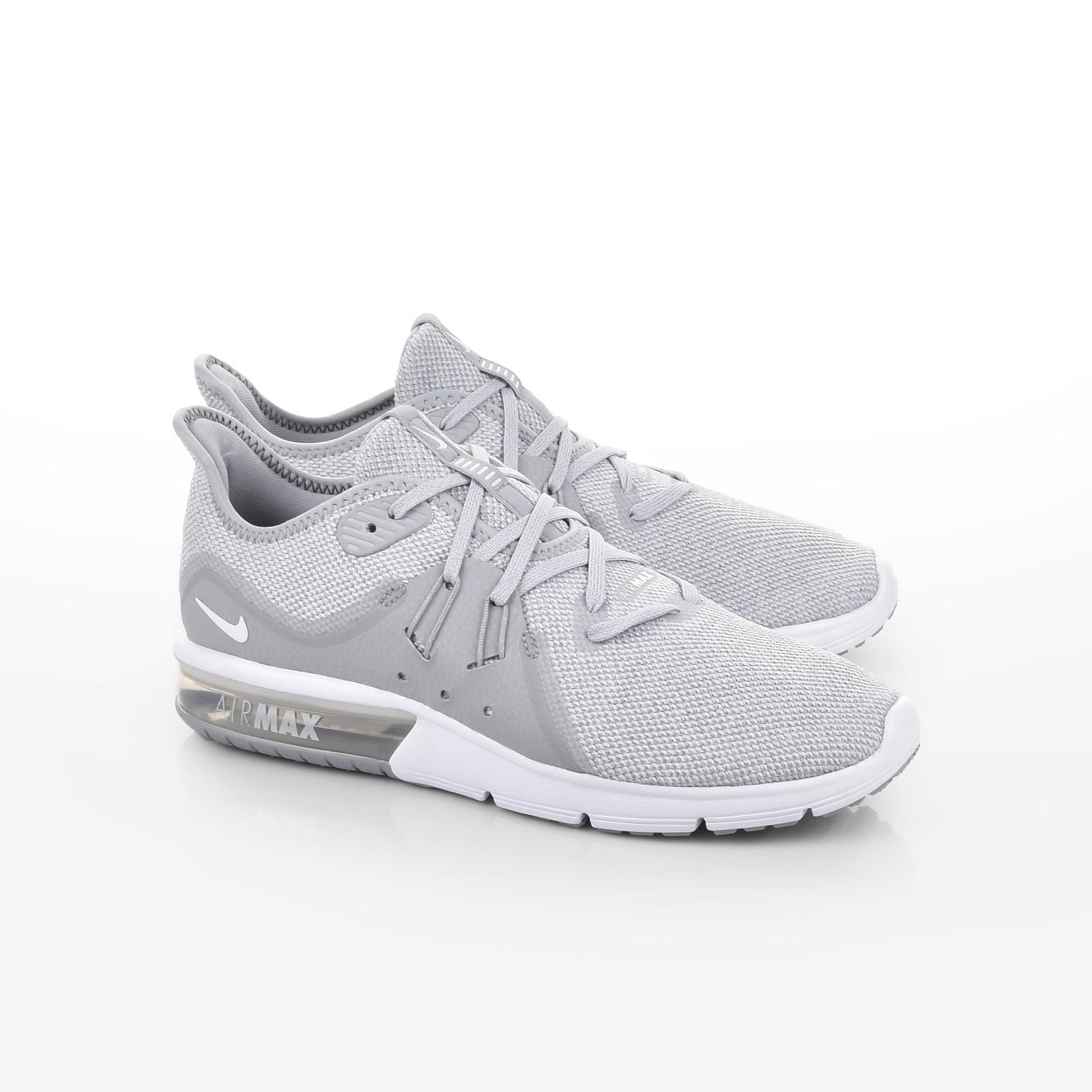 1aab9df769e Nike - NIKE AIR MAX SEQUENT 3 - WOLF GREY/WHITE-, ΑΝΔΡΑΣ | ΠΑΠΟΥΤΣΙΑ ...
