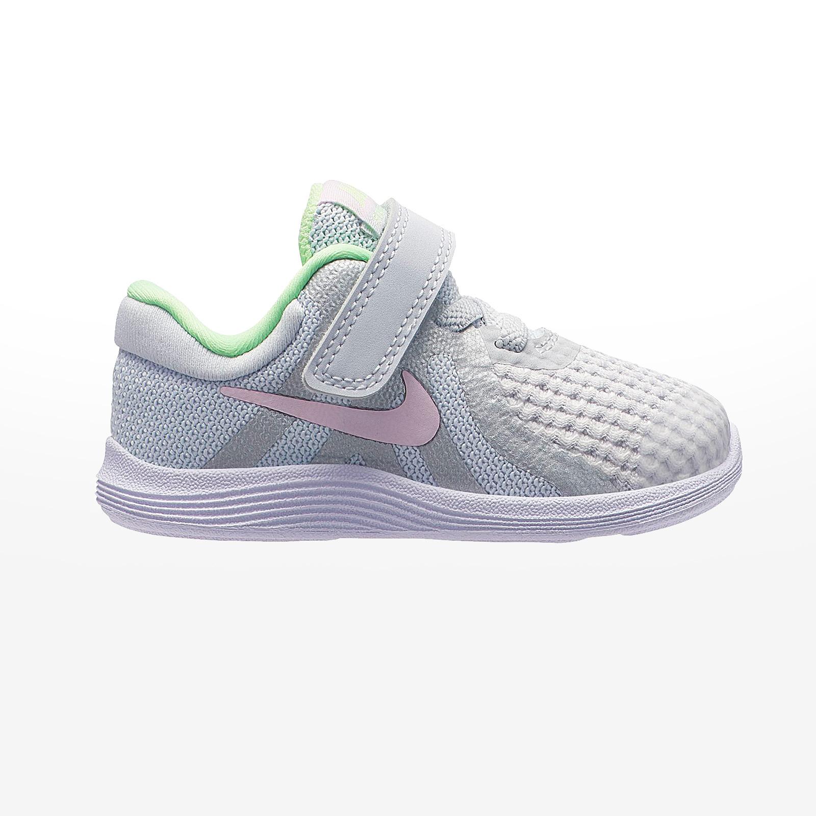 competitive price 2ce1b e60b6 Sportcafe Nike – NIKE REVOLUTION 4 (TDV) – PURE PLATINUM PINK FOAM -PLATINUM