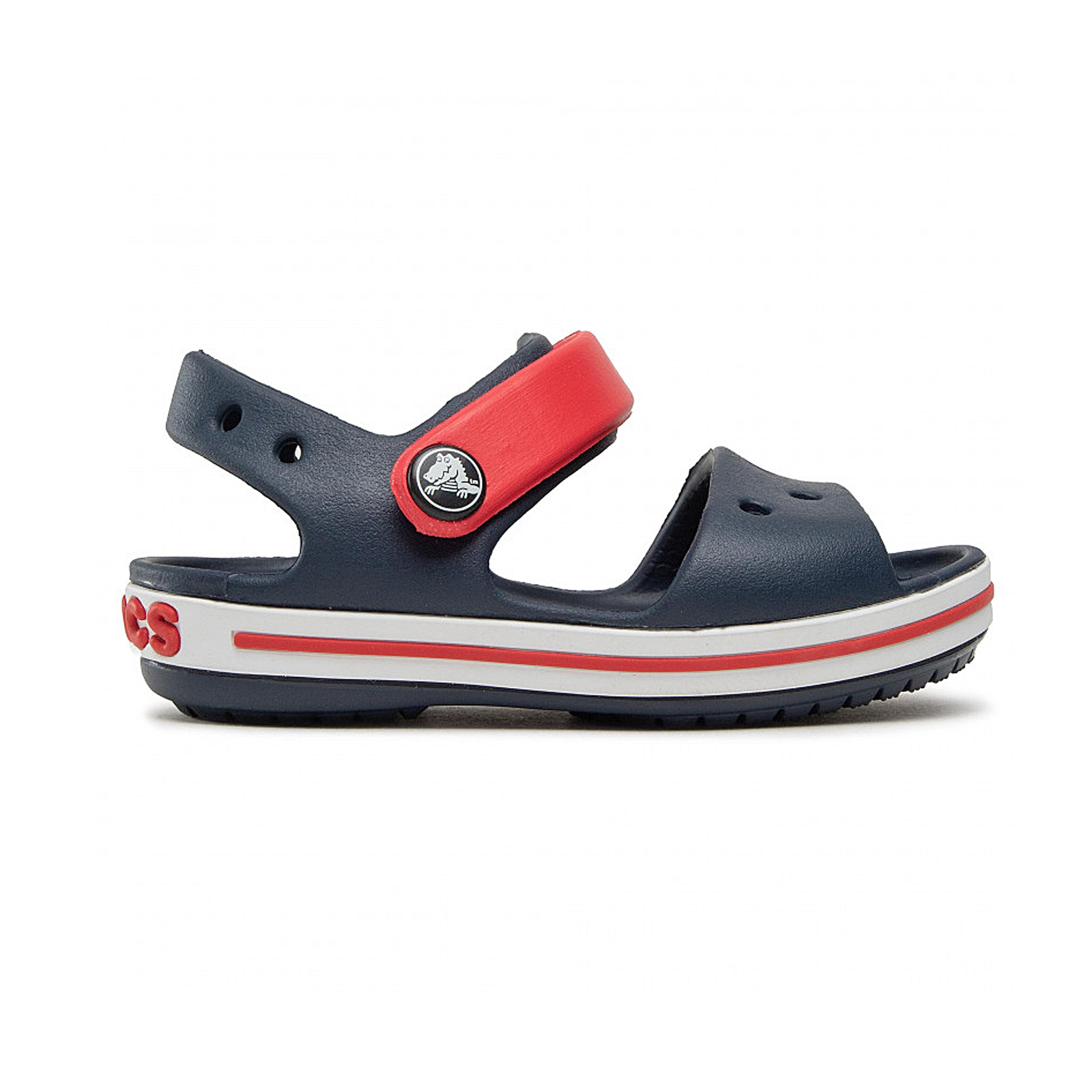 874cddfdc78 Sportcafe Crocs – CROCBAND SANDAL KIDS – NAVY/RED