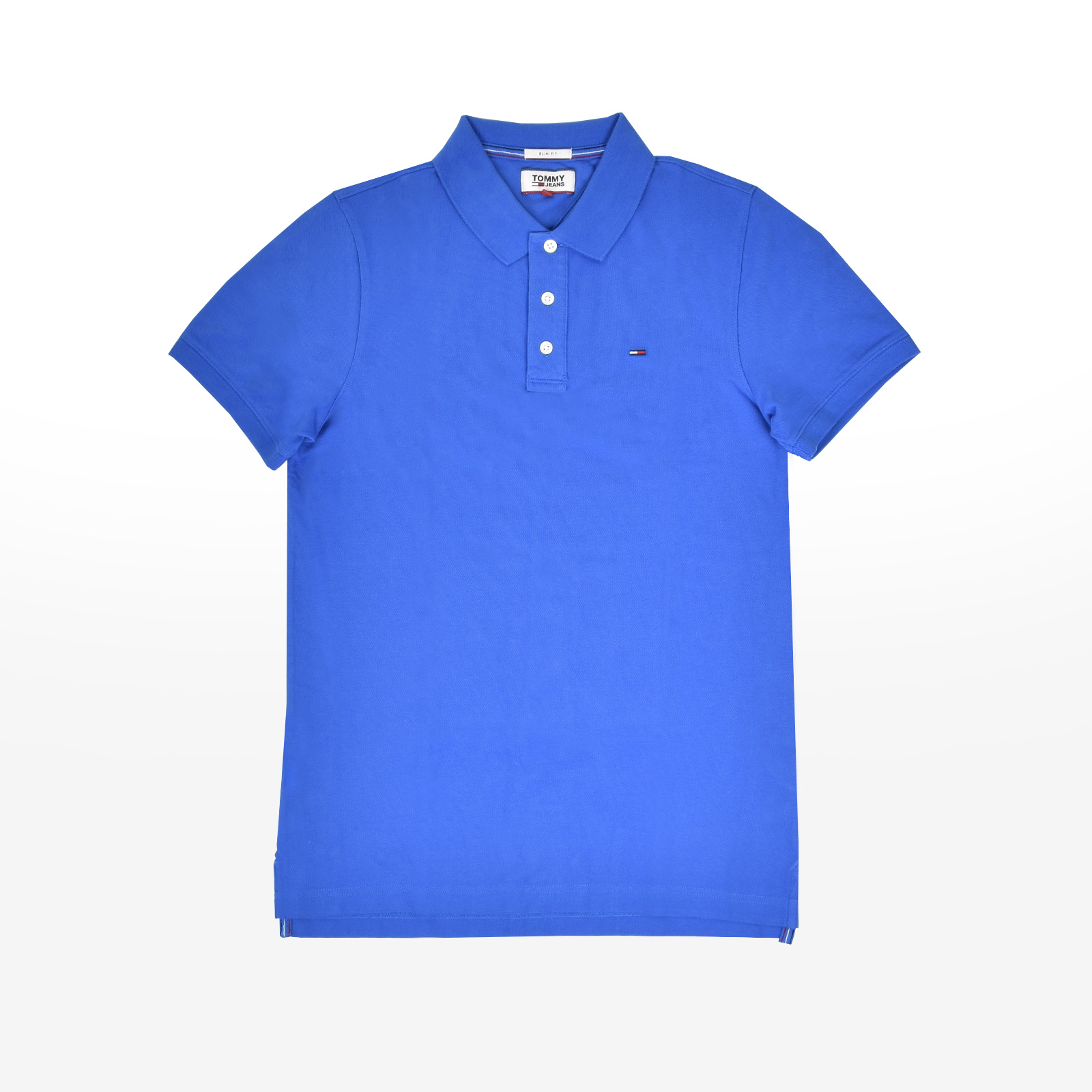 ed7a33286d8a Tommy hilfiger - THDM BASIC FLAG POLO S S - COLONIAL BLUE