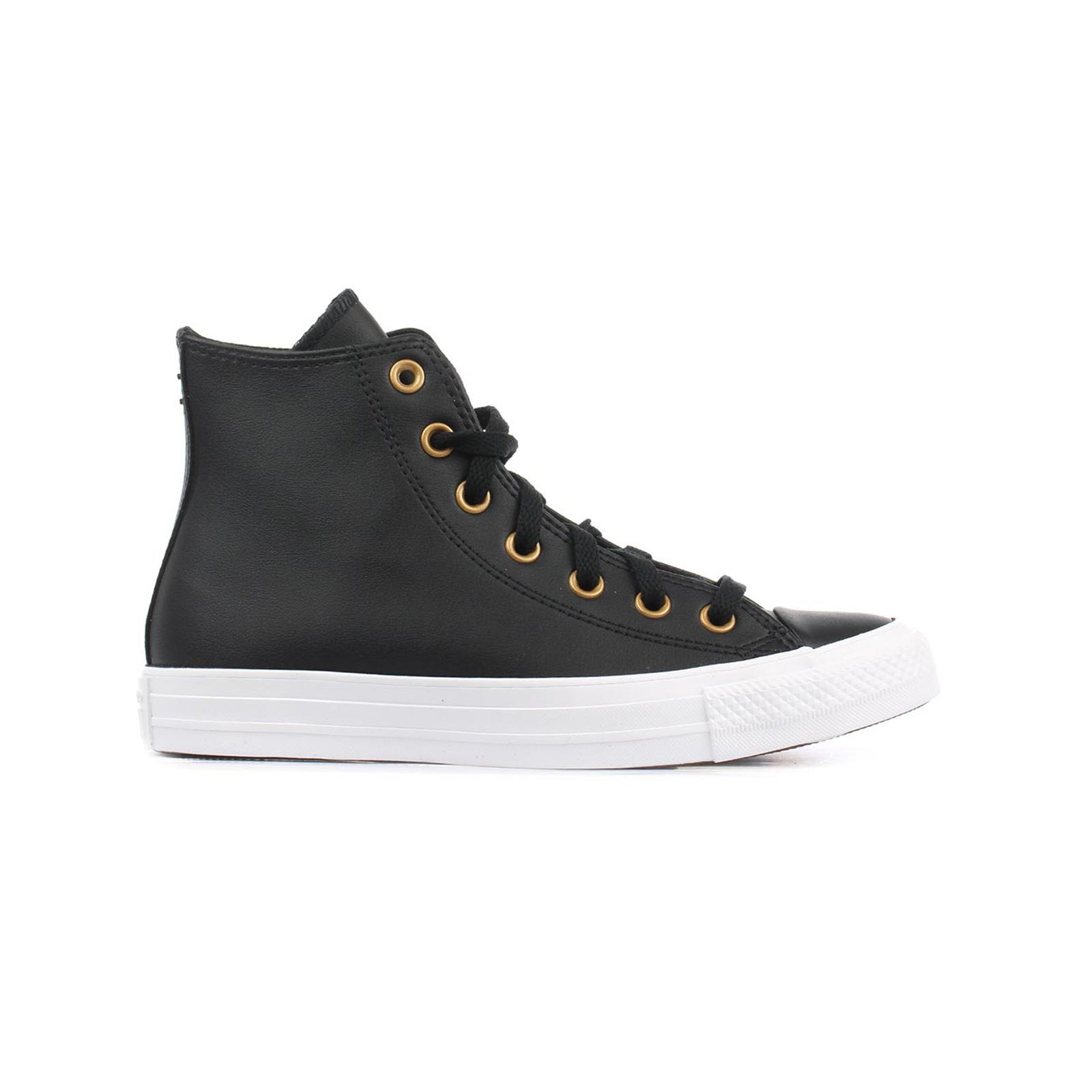 Converse - CHUCK TAYLOR ALL STAR - 001-BLACK/GOLD/WHITE